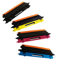 Brother TN-115 BK/C/M/Y Comaptible High Yield Toner Cartridge Combo Set