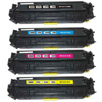 Canon 118 BCYM Toner Cartridges Compatible with Canon 118 Combo Pack