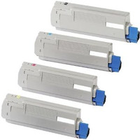 Okidata C610 Series New Compatible Toner Combo Set