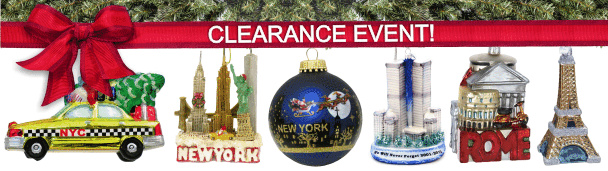 Clearance on Christmas Ornaments from Around the World