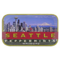 Seattle mints, Seattle mint tin with apx 70 mints