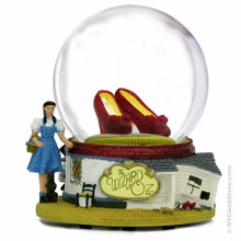 Dorothy Ruby Red Slippers Snow Globe