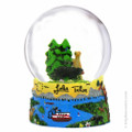 Lake Tahoe Snow Globe