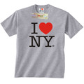 Gray I Love NY T-Shirt