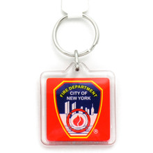 FDNY Plastic Key Chain Fire Department