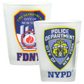 FDNY & NYPD Shot Glasses