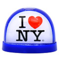 I Love New York Plastic Snow Globe