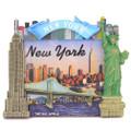 NY Skyline Photo Frame