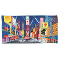 Times Square Beach Towel