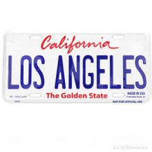Los Angeles License Plate