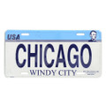Chicago License Plate