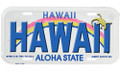 Hawaii License Plate