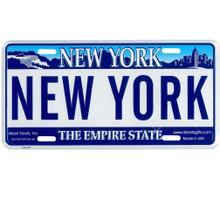 New York License Plate, Novelty Souvenir New York City License Plate