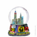 Times Square Broadway Snow Globe