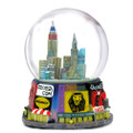42nd Street Times Square Broadway Snow Globe 65mm