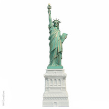 15 Inch Statue of Liberty Marble Statues from New York City Replicas