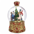 Nutcracker Suite Musical Holiday Christmas Snow Globe