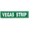 Vegas Strip Street Sign