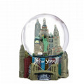 New York City Skyline Snow Globe Souvenir