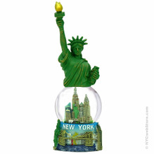 Statue of Liberty Statue and Snow Globe Combo