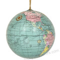 world globe ornaments