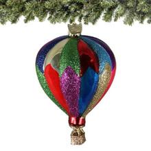 Hot Air Balloon Christmas Ornaments