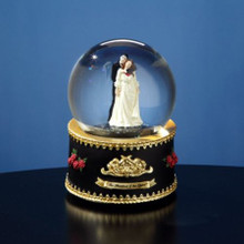 Phantom and Christine Rotating Snow Globe