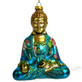 Glass Buddha Ornaments
