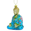 Buddha Glass Christmas Ornament