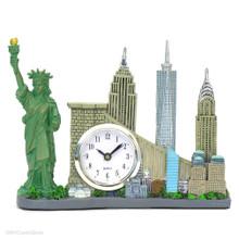 New York City skyline clock souvenirs