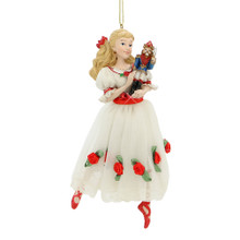 Clara and Nutcracker Christmas Tree Ornament