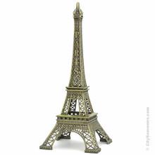 Metal Eiffel Tower replica statue souvenir Paris gift