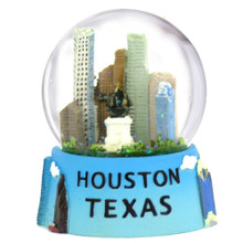 Houston, Texas Snow Globe