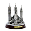 New York City model replica souvenir with Statue of Liberty