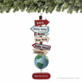 See the World Christmas Ornament