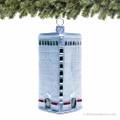 Flatiron Building Glass Ornament