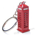 London Phone Booth Key Chain, key ring