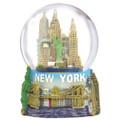Mini New York Skyline Snow Globe Souvenir
