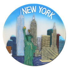 New York Landmarks Collectors Plate