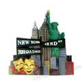 Color Landmark Broadway 3D Magnet