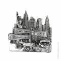 Silver Central Park Magnet souvenir