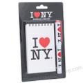 I Love NY Note Pad and Pen Set
