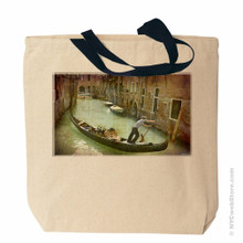 Venice Tote Bag with Italian Gondola