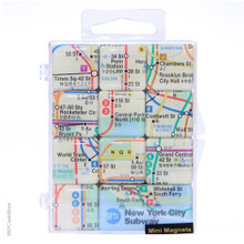 New York City Subway Mini Magnet Set