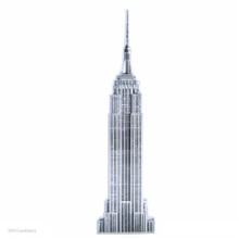 Empire State Building Acrylic Magnets
