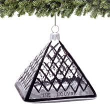 Paris Louvre Christmas Ornaments - Glass
