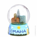 65mm Omaha, Nebraska Snow Globe