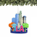 Los Angeles Icons Christmas Ornament