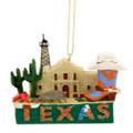Texas Landmarks Christmas Ornament