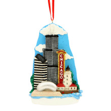 Chicago Landmarks Ornament for Personalization
